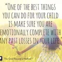 Children may be resilient, but they still grieve. They have big feelings, too, after all!