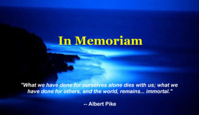 Celebrating The Lives Of Beloved Counselors …
