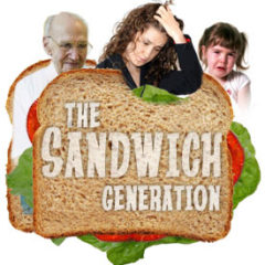 "New Workshop Sat Mar 30th 2019: ""The Sandwich Generation"""